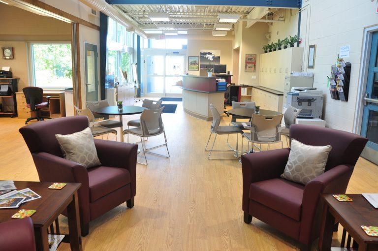 Acton Senior Centre - desk
