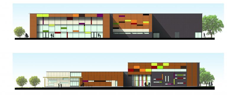 Collingwood YMCA Pool Elevation Rendering