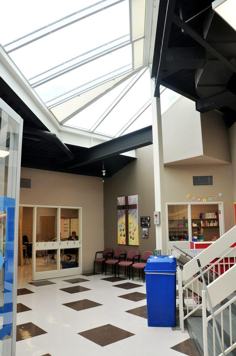 Milton Christian School interior