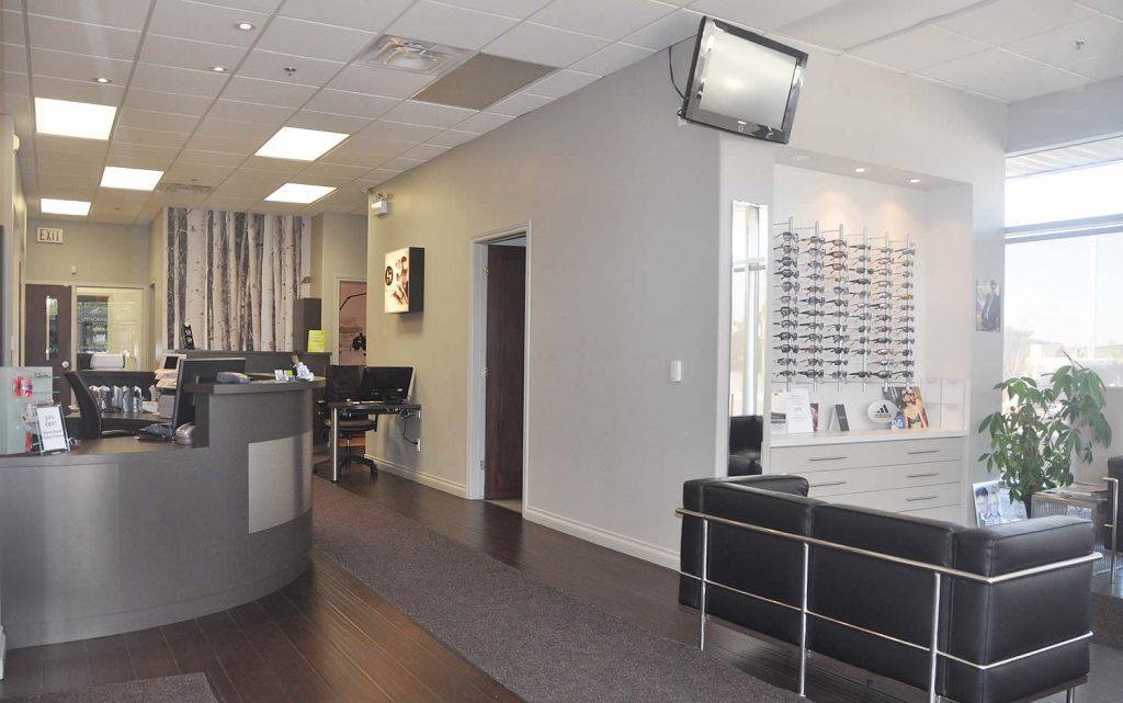 Milton Optometry Interior