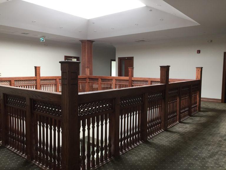 Mississauga Mosque interior