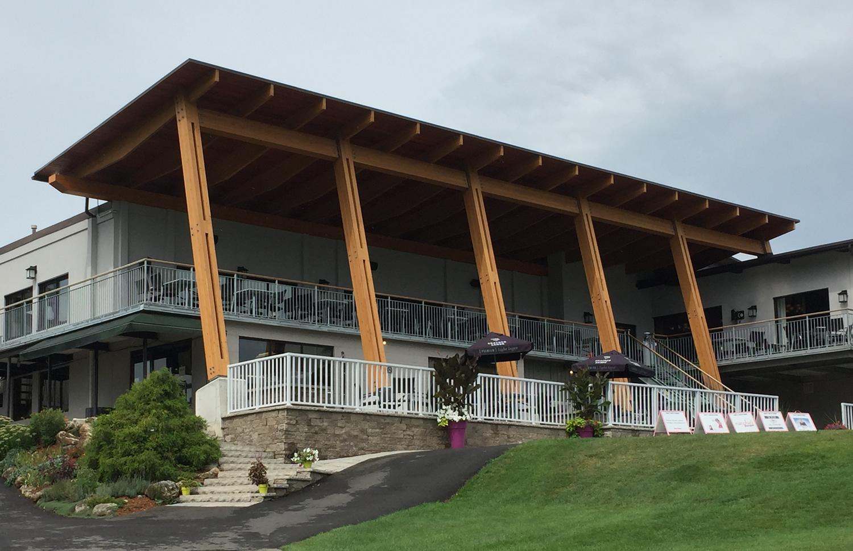 North Halton Golf Club Deck
