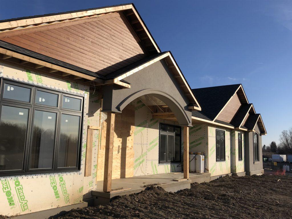 Milton residential exterior