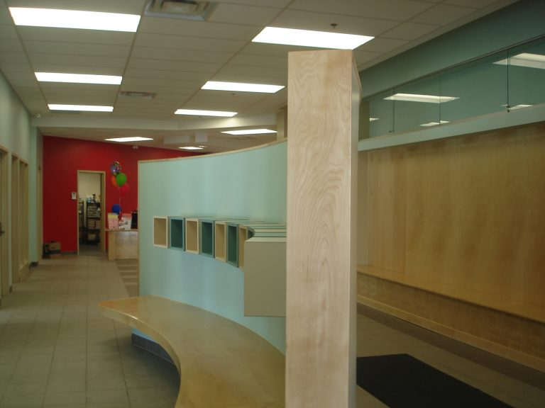 Collingwood YMCA cubbies
