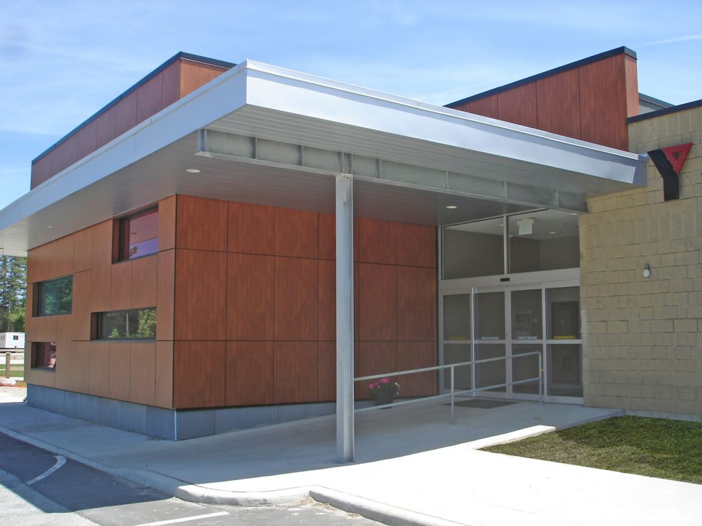 Collingwood YMCA Front Door