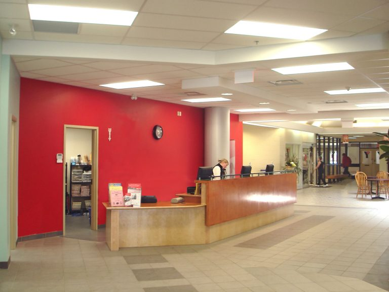 Collingwood YMCA Lobby