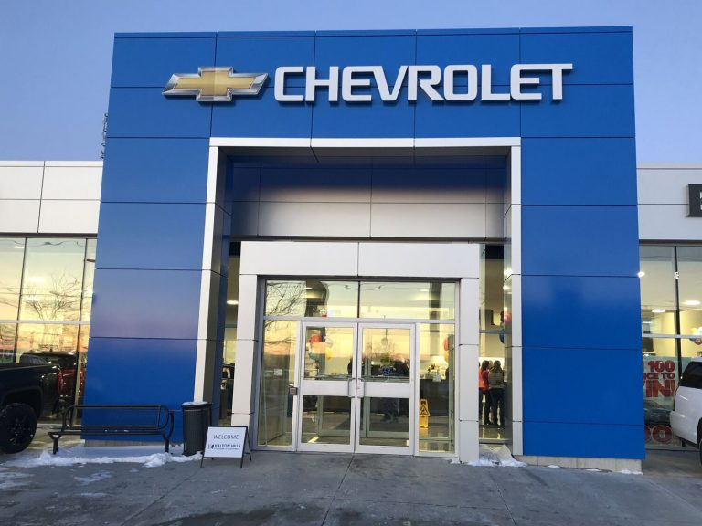 Georgetown Chevrolet Entrance