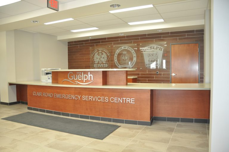 Guelph South End Emergency Services Front Desk