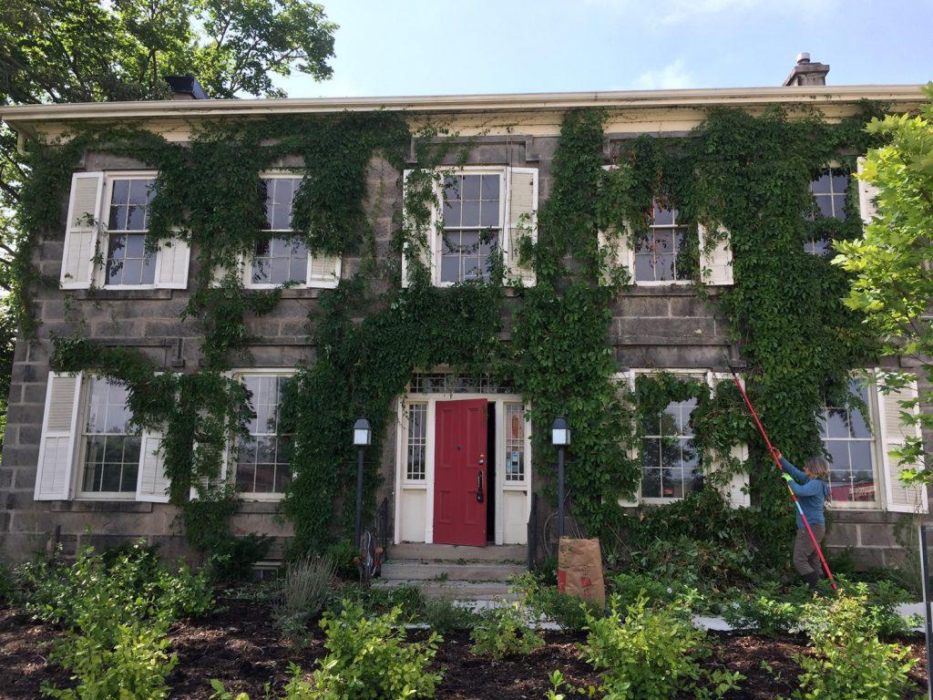 Heritage Building Restoration-Montessori School, Milton - exterior