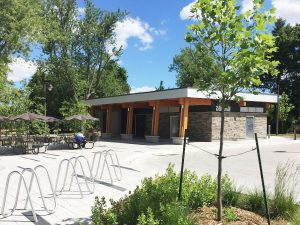 Lake Wilcox Park Exterior
