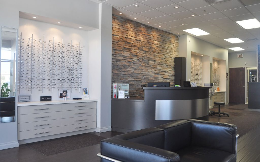 Milton Optometry Interior