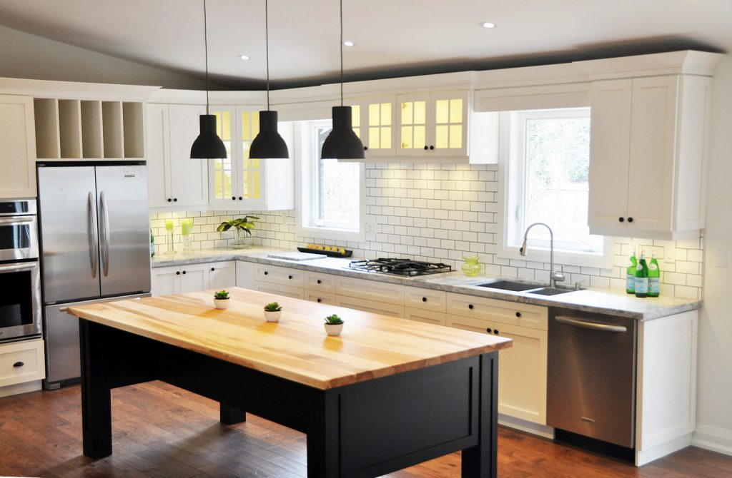 Kitchen designed by Green Propeller