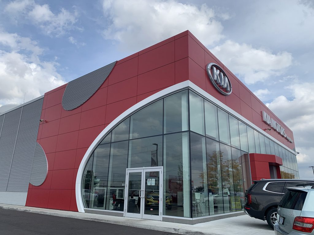 Georgetown Kia dealer exterior