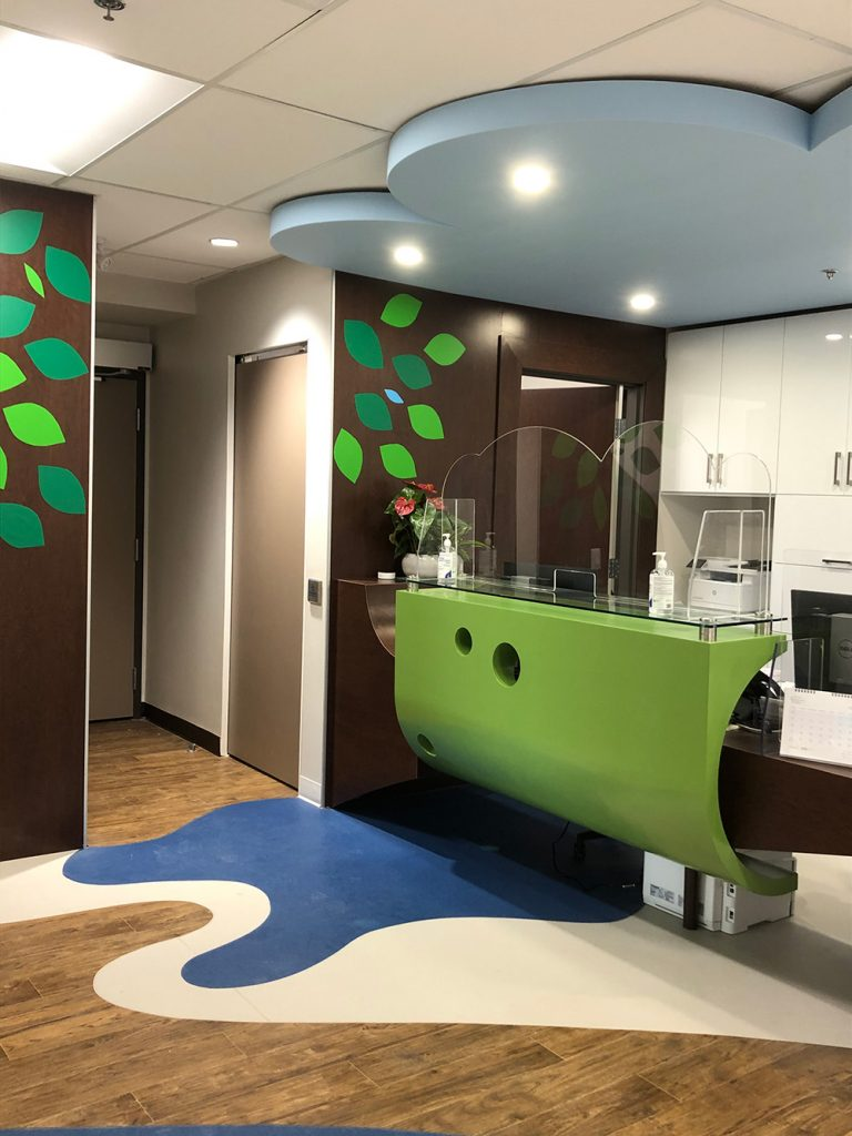 Pediatrics Clinic / Optometry Office / Pharmacy at Bronte Medical Building.